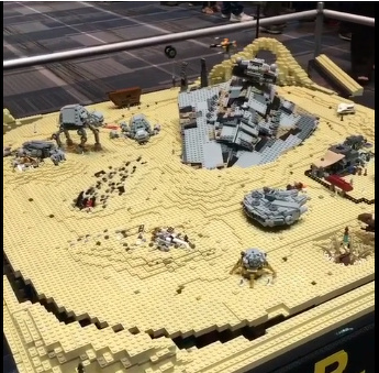 Jakku LEGO Scene